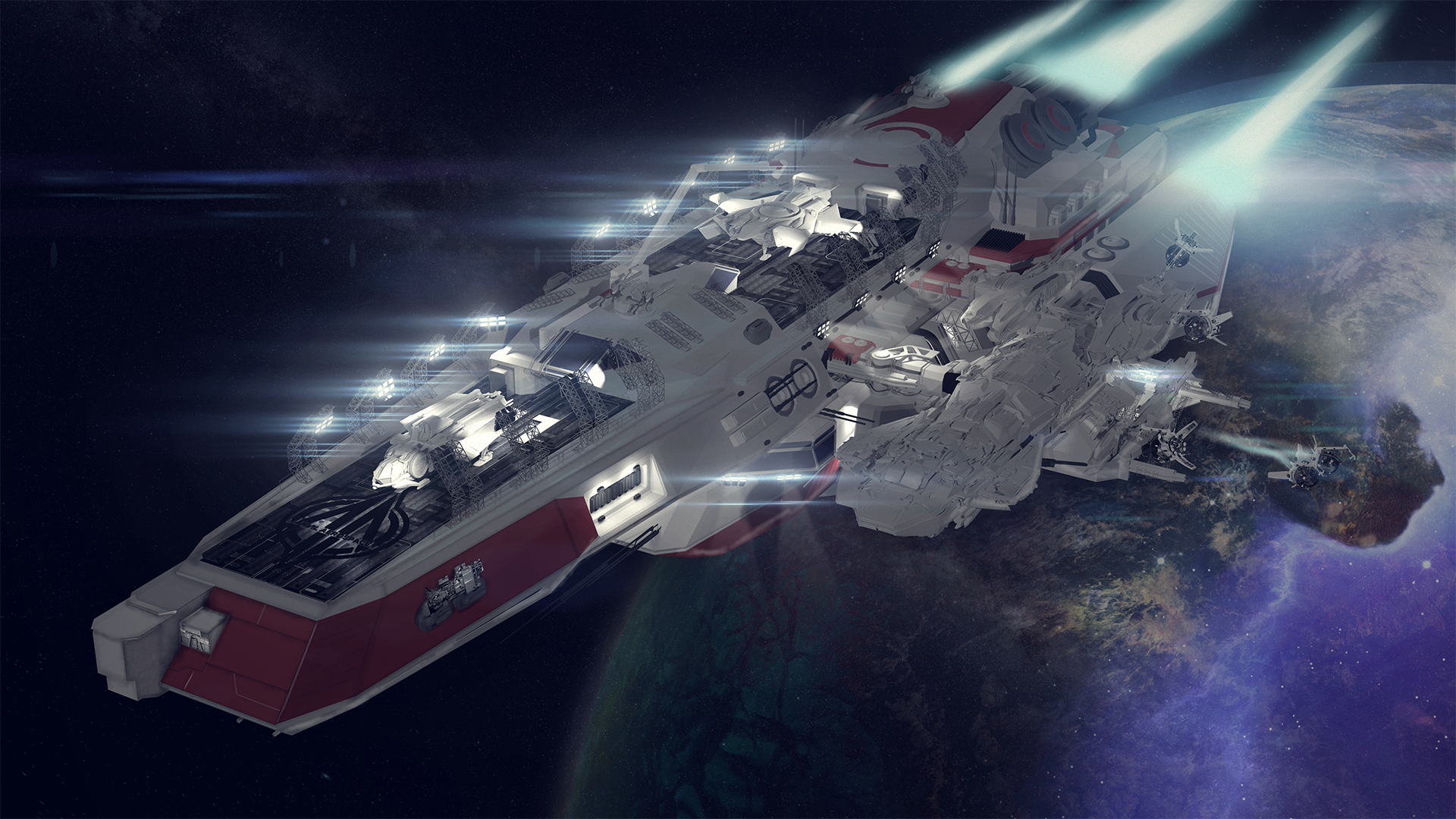 Fan Ship] Concept: Anvil Aerospace HYGEIA – Mobile Medical and ...